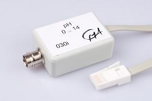pH-versterker (excl. elektrode) is vervangen door BT61i